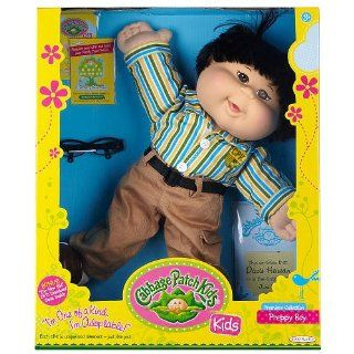 Cabbage Patch Kids Doll   Preppy Boy   Black Hair   Asian Toys & Games