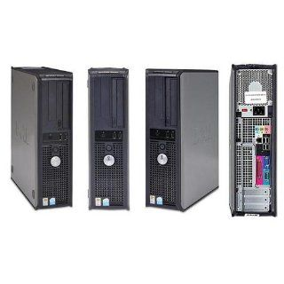 Dell GX620 SFF Desktop Computer, Powerful Intel 2.8GHz processor is included, LGA 775 CPU, Super Fast 2GB Interlaced DDR2 Memory, VGA Onboard Video, Fast 80GB SATA Hard Drive, DVD/CDRW Burn CD's and Play DVD's, Crystal Clear VGA Video, Intregrated