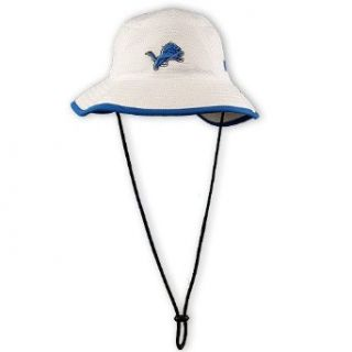 NFL Detroit Lions Training Camp Bucket Hat, White, One Size Fits All  Sports Fan Baseball Caps  Clothing