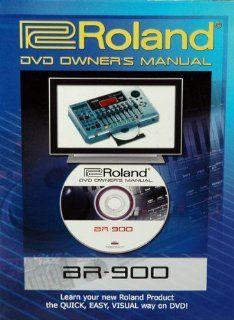 Boss BR 900 DVD Owner's Manual Musical Instruments