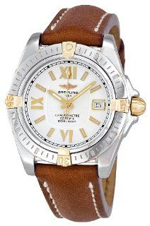 Breitling Women's B7135612 G652BRLT Cockpit Lady Silver Dial Watch: Breitling: Watches