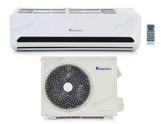 9, 000 Btu Klimaire 15 SEER   DC Inverter   Heat Pump & Air Conditioner   115V   16' Installation Kit   Multiroom Air Conditioners