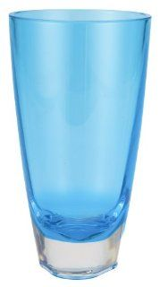 Zak Designs Triangle Turquoise 18 1/2 ounce Beverage/Cooler Tumbler, Set of 4: Kitchen & Dining