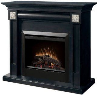 Dimplex DFP4754E Traditional Electric Fireplace   Espresso Finish W/ Interchangeable Accents