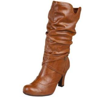 Madden Girl Women's Syngerr Boot, Tan Paris, 5 M US Shoes