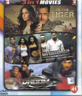 Ek Tha Tiger / Dhoom 2 / Dhoom (Hindi Film / Bollywood Movie / Indian Cinema 3 in 1   100% Orginal DVD Without Subtittle): Katrina Kaif, Ranvir Shorey/Abhishek Bachchan, Uday Chopra, Hrithik Roshan/Abhishek Bachchan, Uday Chopra, John Abraham Salman Khan:
