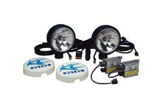 KC HiLiTES 661 Daylighter Black 50w HID Spot Beam Light System: Automotive