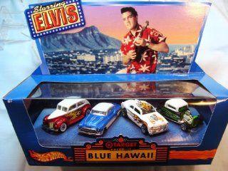 Hot Wheels   Elvis Presley/Blue Hawaii   Target/DriveIn Theatre   4Car Set Toys & Games
