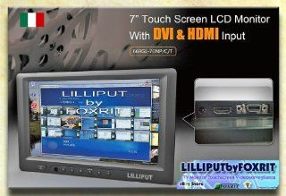 """Sunlight Readable Lilliput 7"""" 669gl 70np/c Vga Monitor W/dvi and Hdmi Input(non touch Screen)+HOT SHOE MOUNT+BATTERY Computers & Accessories"""