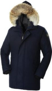 Canada Goose Mens Como Parka, Navy, Large: Clothing