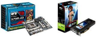 Bundle Sell(MB+VGA): ECS Intel LGA 2011 X79 ATX DDR3 X79R AX Motherboard + GTX 670 2GB EGTX670A 2GR5 WF Graphics Card: Computers & Accessories