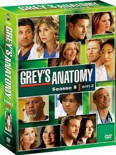 TV Series   Grey's Anatomy Season 8 Collector's Box Part2 (7DVDS) [Japan DVD] VWDS 2693 Movies & TV