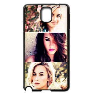 Actress&Pop Singer Demi Lovato Print Case With Hard Shell Cover for Samsung Galaxy Note 3 N900/N9000/N9005 DIY 1: Cell Phones & Accessories