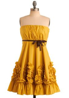 Ryu Yellow, Gorgeous Dress  Mod Retro Vintage Dresses