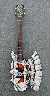 RGM692 Gene Simmons Gentry Riley Axe Gates Miniature Guitar