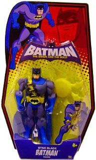 Batman: Brave And The Bold Star Blade Batman Action Figure: Toys & Games