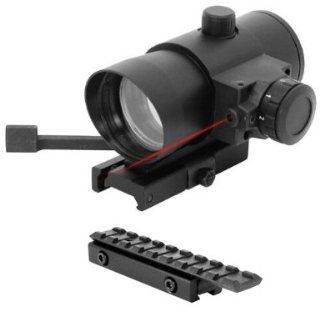 Tactical QD Red Dot Scope w/ Mount Fits Mossberg Plinkster .22 Rifle Henry AR7 US Survival Rifle Tippmann A5 98 Markers : Red Dot And Laser Sights : Sports & Outdoors