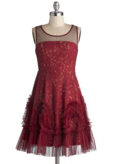 Ryu Raspberry Truffle Dress  Mod Retro Vintage Dresses