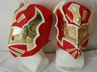 Sin Cara Mask Rey Mysterio Mask Halloween Red Mask: Everything Else