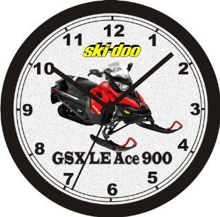 2014 Ski Doo GSX LE Ace 900 Snowmobile Wall Clock   Wall Clock FREE USA SHIPPING