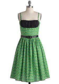 Bernie Dexter Yours Always Dress in Bumblebee  Mod Retro Vintage Dresses