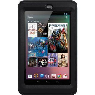 OtterBox Defender Series Hybrid Case with Screen Protector and Stand for the Nexus 7 (First Generation)   Black Computers & Accessories