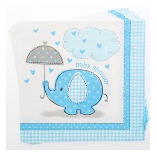 Blue Elephant Baby Shower Lunch Napkins Toys & Games
