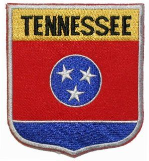 State Of Tennessee Shield Flag Embroidered Applique Patch