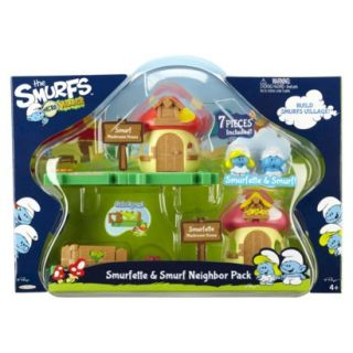 The Smurfs Smurfette & Smurf Neighbor Pack
