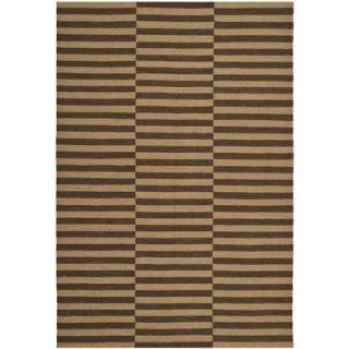 Ralph Lauren Home River Reed Stripe Timber Rug RLR2221C Rug Size 2 x 3