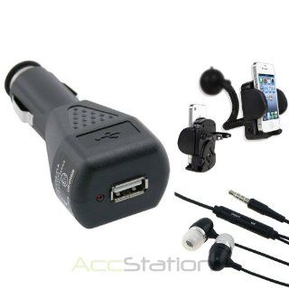 Desktop AC Dock Battery Charger For Samsung Galaxy Note II 2 N7100+Black Headset: Cell Phones & Accessories
