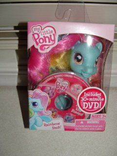 My Little Pony Rainbow Dash with 30 Minute DVD: Toys & Games