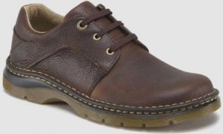 Dr. Martens Mens 8B75 Zak 3Eye GIB SH 3 Eye Gibson. Color Style: Dark Brown. UK Size: 6: Oxfords Shoes: Shoes
