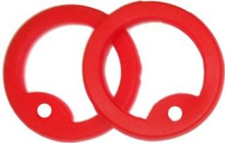 Red Dog Tag Silencers   Silicone Clothing
