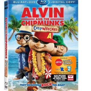 Alvin and the Chipmunks: Chipwrecked (Blu ray) (W)