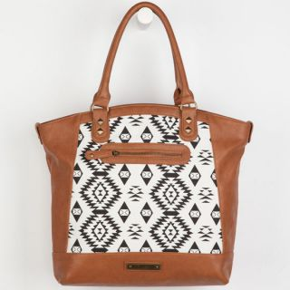 Ikat Tote Bag Cognac One Size For Women 237867409