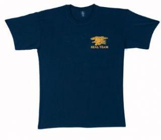 Official Navy Seals Team Logo T Shirt Military Apparel Shirts Clothing