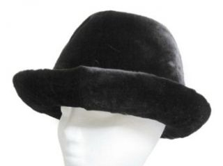 Black Sheared Mink Cowgirl Hat at  Women�s Clothing store: