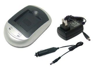 Sony Cybershot DSC S780 Digital Camera Battery Charger   TechFuel® AC & DC Compatible Desktop Battery Charger : Camera & Photo