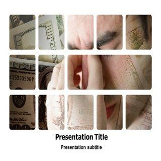 Money Stress Powerpoint Templates   Money Stress Background for Powerpoint Slides Software