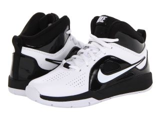 Nike Kids Team Hustle D 6 (Little Kid) White/Black/White