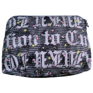 Harajuku Lovers The Cherry Bomb Cosmetic Bag   Grunge Logo  Cosmetic Tote Bags  Beauty