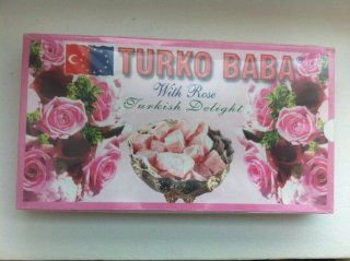 Turko Baba Rose Turkish Delight 400 gr : Gourmet Food : Grocery & Gourmet Food