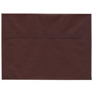 A7 (5 1/4 x 7 1/4) Burgundy Translucent Closeout Envelopes  25 per pack : Greeting Card Envelopes : Office Products