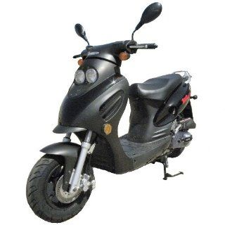Dash TPGS 804 Gas 49cc Moped Scooter w/ Rear Mounted Storage Trunk  Sports Scooters  Sports & Outdoors