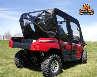 Mammoth Kawasaki Teryx 4 Soft Door Rear Window Combo MD KAW TERYX4 DRW01BLK Automotive
