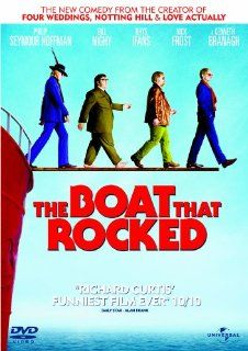 The Boat That Rocked [Regions 2 & 4]: Kenneth Branagh, Rhys Ifans, Ralph Brown, Bill Nighy, Philip Seymour Hoffman, Nick Frost, Tom Sturridge, Rhys Darby, Tom Brooke, Gemma Arterton, Richard Curtis, CategoryCentralEurope, CategoryCultFilms, CategoryFra