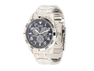 Citizen Watches BL5470 57L Eco Drive Stainless Steel Perpetual Calendar Chronograph Watch Silver Tone Stainless Steel