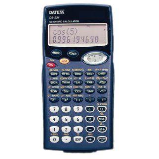 Datexx DS 834 Solar Powered Scientific Calculator  Electronics
