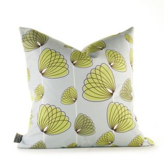 Inhabit Aequorea Floating Lotus Synthetic Pillow FLOTSLGRxxP Size: 18 x 18,